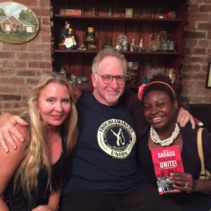 Mark, Ebony and Me at Mark's Book Party 10:26:14